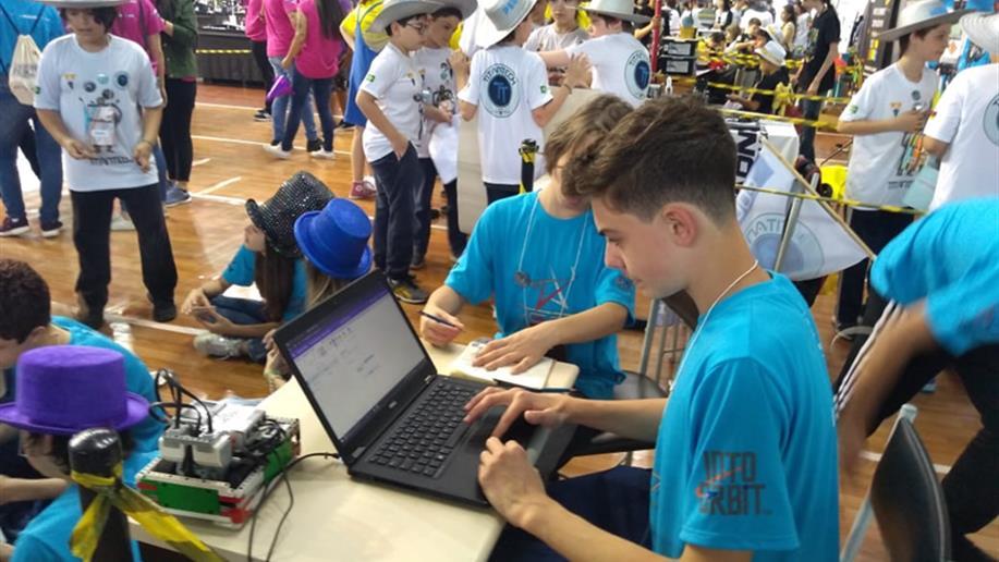 A seletiva aconteceu na Escola Sesi de Ensino Médio, em Pelotas