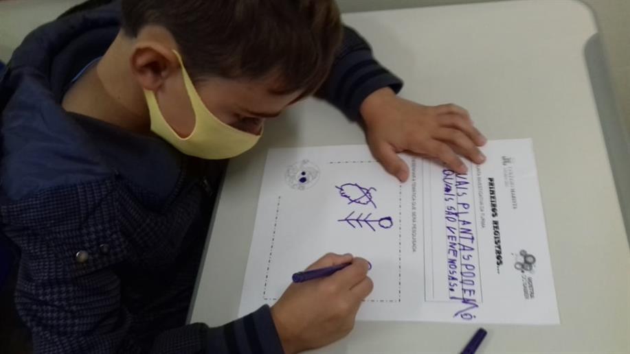 Essa iniciativa de Iniciação Científica é voltada aos estudantes do 1º ao 5º ano do Ensino Fundamental