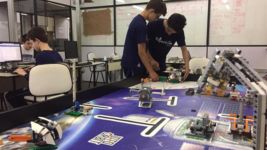 Os estudantes estão se preparando para a etapa regional, que será realizada em Pelotas nos dias 26 e 27/10