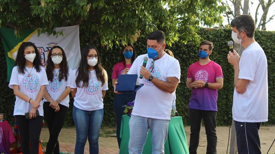Marista Assunção foi sede do Encontro de Jovens Maristas 2021