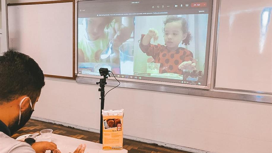 O fazer pedagógico conta com uma nova forma de ensino para assegurar o cuidado e qualidade do aprendizado