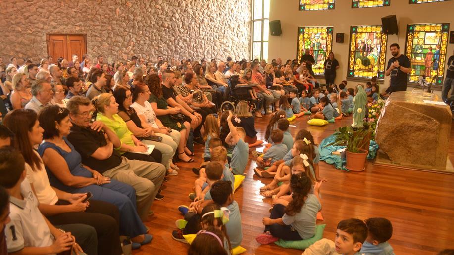 A celebração foi realizada na Casa Marista da Juventude (Caju).