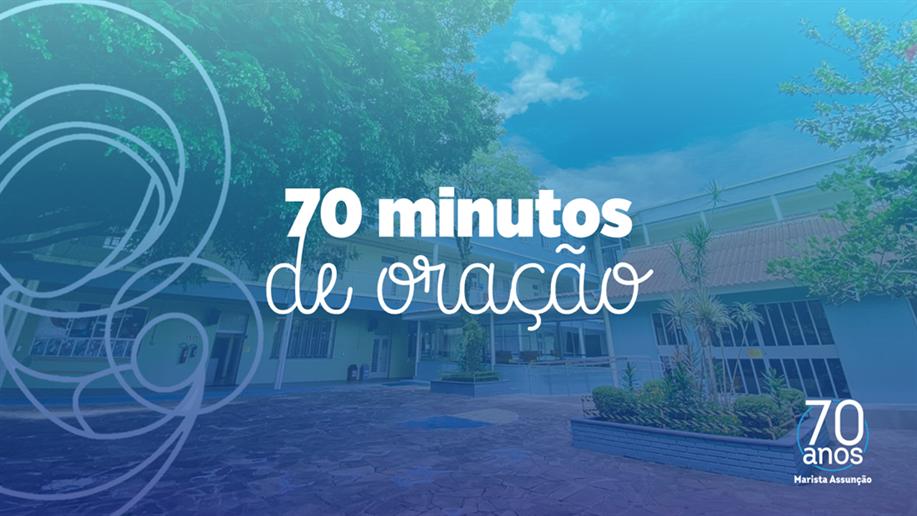 Confira áudios inspiradores dessa linda ação alusiva aos 70 anos do Marista Assunção