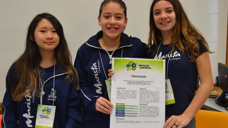 Colégio realiza anualmente a Mostra de Iniciação Científica para estudantes da EI ao EM