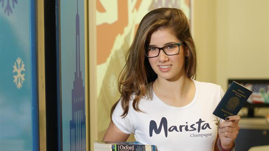 Intercâmbio Marista é voltado para os estudantes do 9º ano do Ensino Fundamental e Ensino Médio, com viagens para Inglaterra, Canadá e Nova Zelândia.