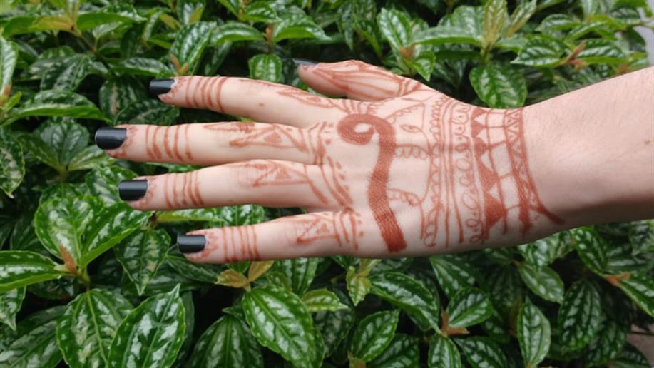 Arte Mehndi, manifestação artística que gera conhecimento e produz significados.