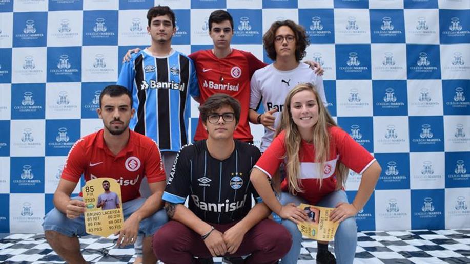 Grêmio Estudantil realiza torneio inter-série de futsal para estudantes do 6º ano EF a 3º ano EM.