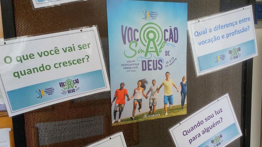 Atividades promovem a cultura vocacional e a reflexão do projeto de vida de cada um