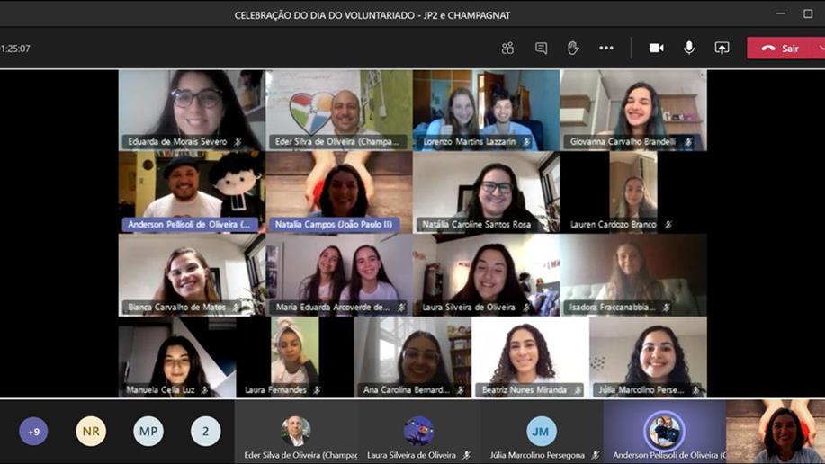 Estudantes adaptam ações solidárias no ambiente virtual