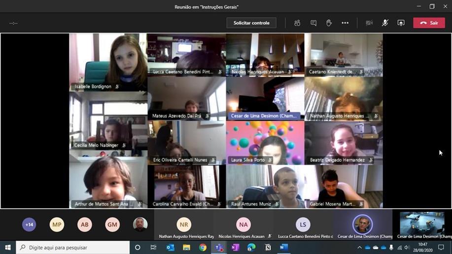 Estudantes dos Anos Iniciais participam de oficina do pensamento computacional