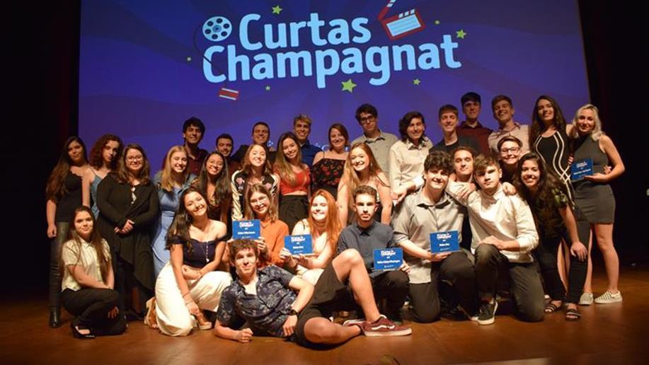 Estudantes produzem curta-metragens que são apresentados na 13ª edição do Curtas Champagnat