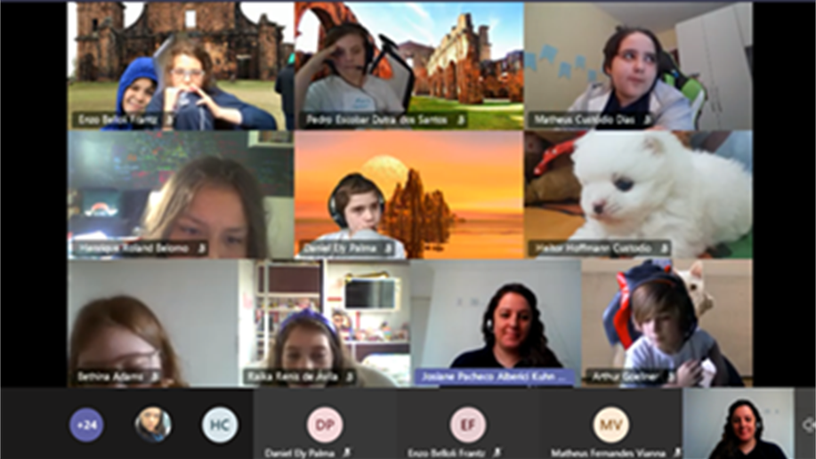 Estudantes do 5º ano do Ensino Fundamental conhecem são Miguel das Missões através de uma viagem online