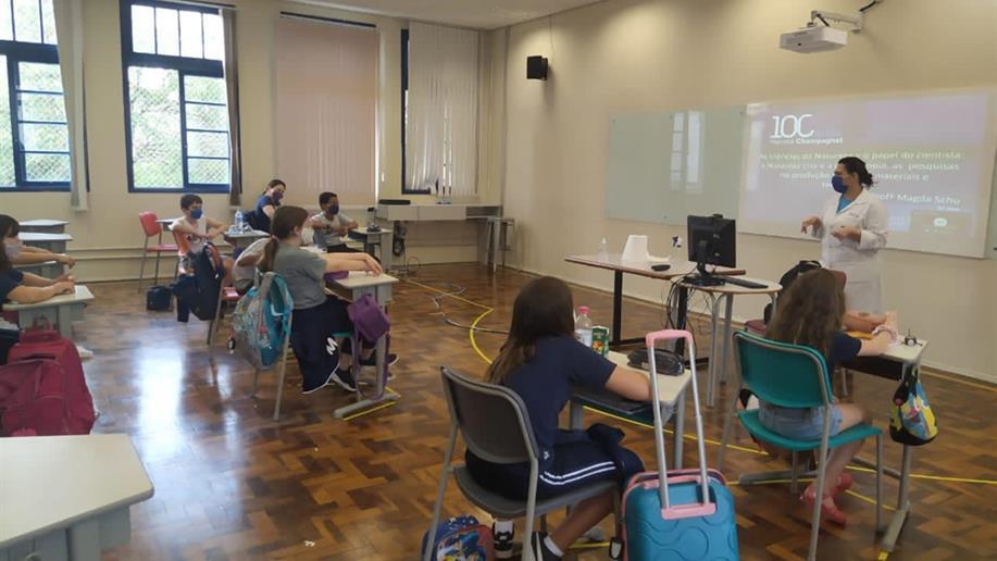 Estudantes do 5º ano EF participam de aulas preparatórias para o novo ano letivo