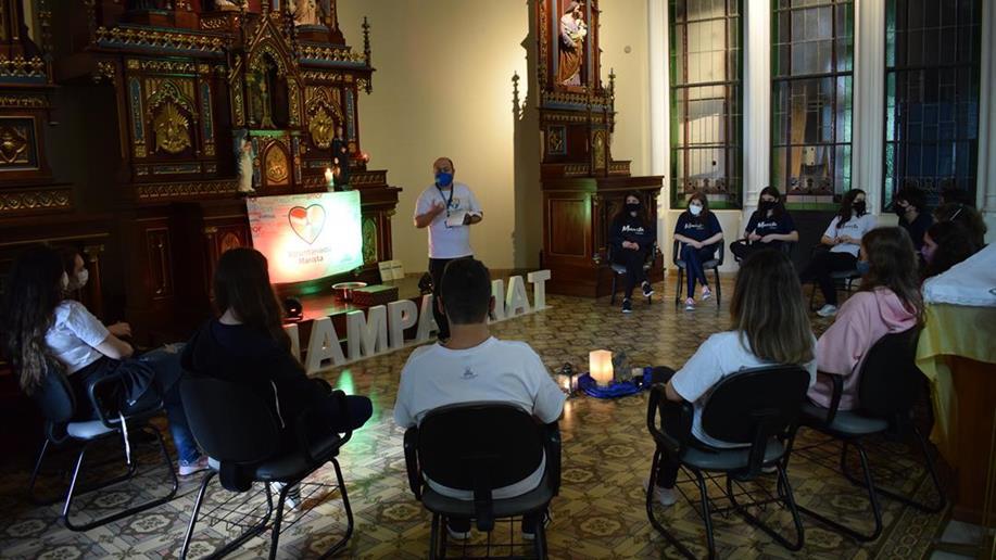 Grupo Voluntariado do Marista Champagnat realiza retiro e marca retorno das atividades presenciais