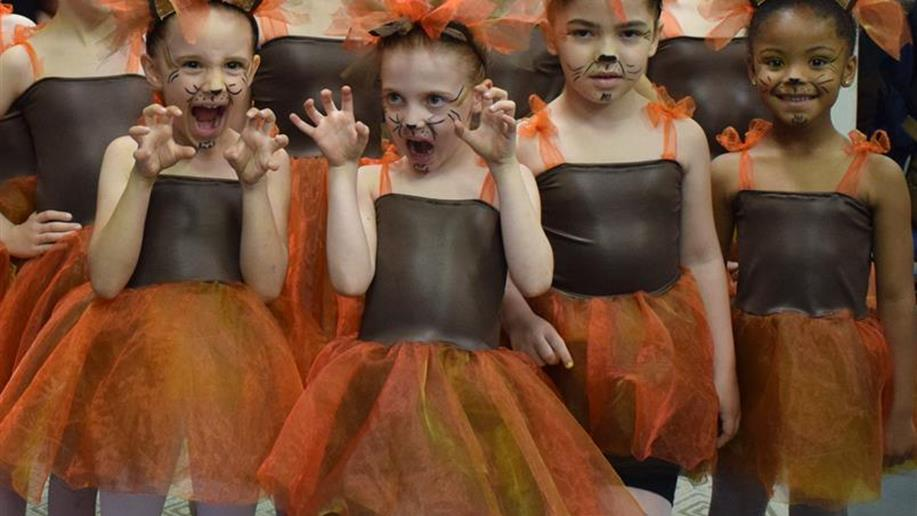 Nossos estudantes dos grupos de Balé, Orquestra e Teatro realizaram um espetáculo de encerramento do ano para suas famílias