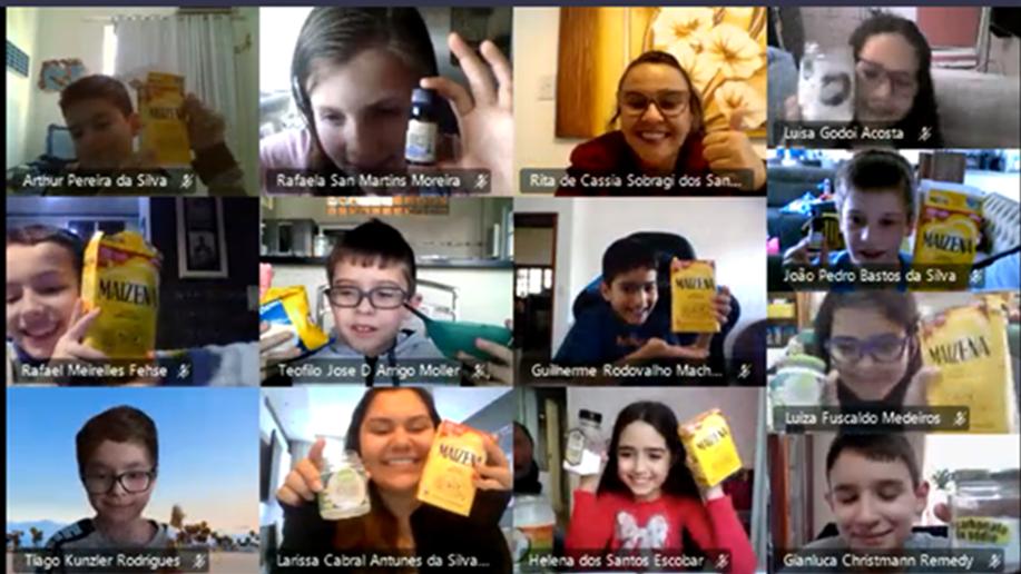 Estudantes do 4º ano do Ensino Fundamental produzem desodorante caseiro durante aula online