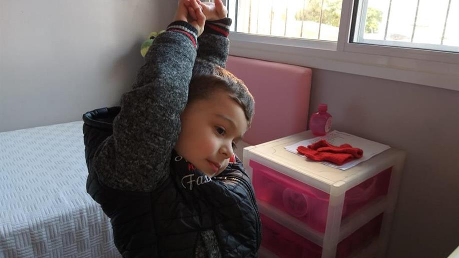 Educação Infantil realiza atividades relacionadas à prática de Ioga