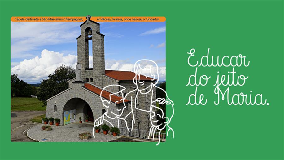Dia 20 de maio, celebramos o nascimento de São Marcelino Champagnat