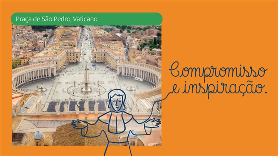 Champagnat foi anunciado Santo da Igreja Católica, em 1999, no Vaticano. Seu legado nos inspira e ensina.