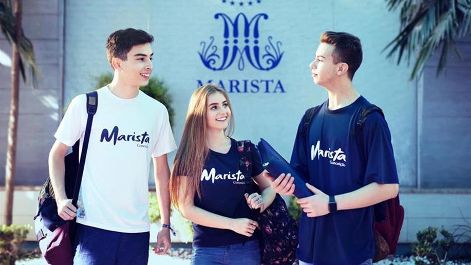 Sistemas de segurança e Seguro Educacional do Colégio Marista Conceição em Passo Fundo garantem a proteção e o bem-estar dos estudantes.