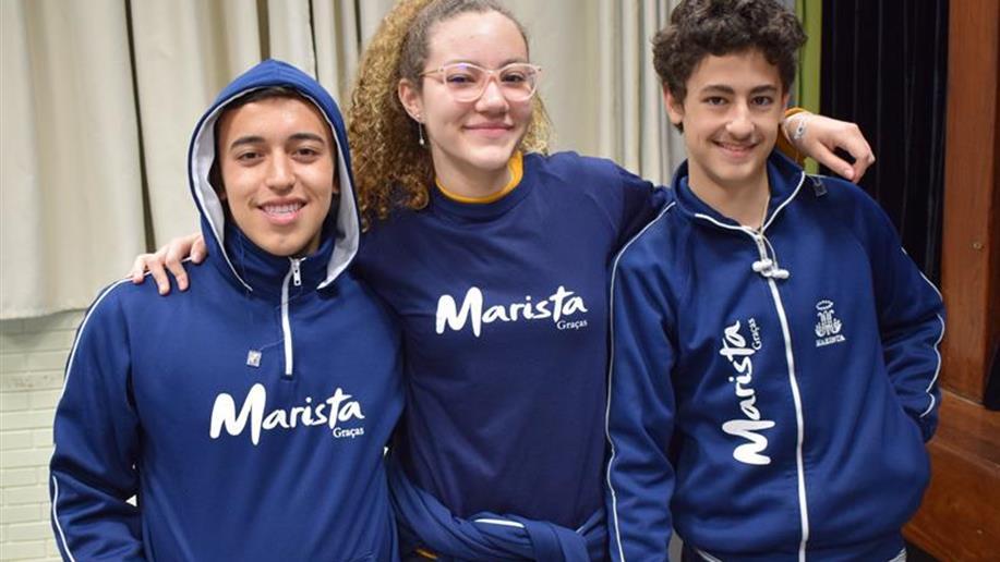 Três estudantes do Colégio participarão de programa marista de intercâmbios