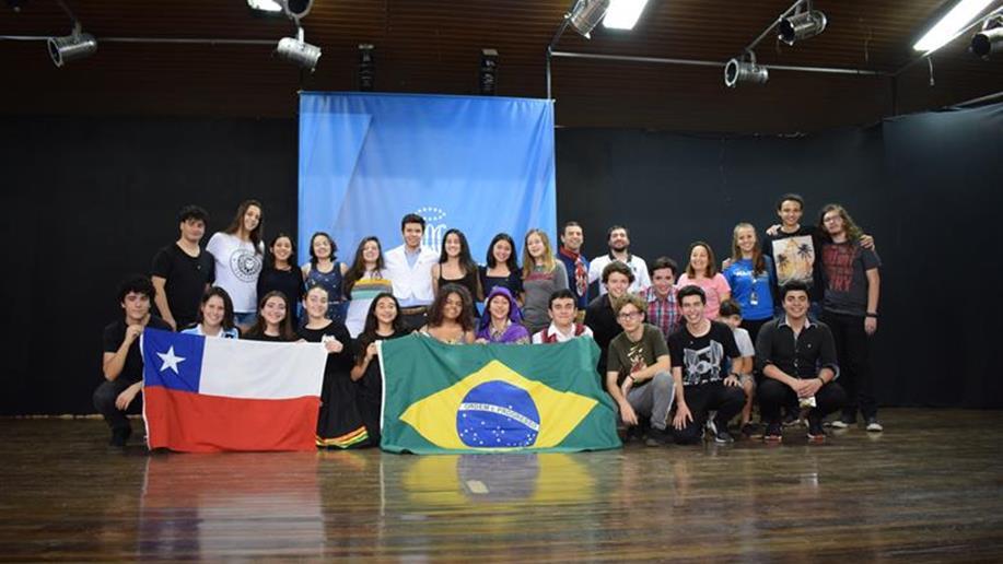 Turma com 14 estudantes e 2 educadores participou de diversas atividades entre 11 e 17 de junho