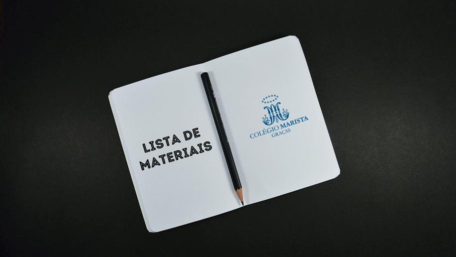 Confira a lista de materiais para 2021