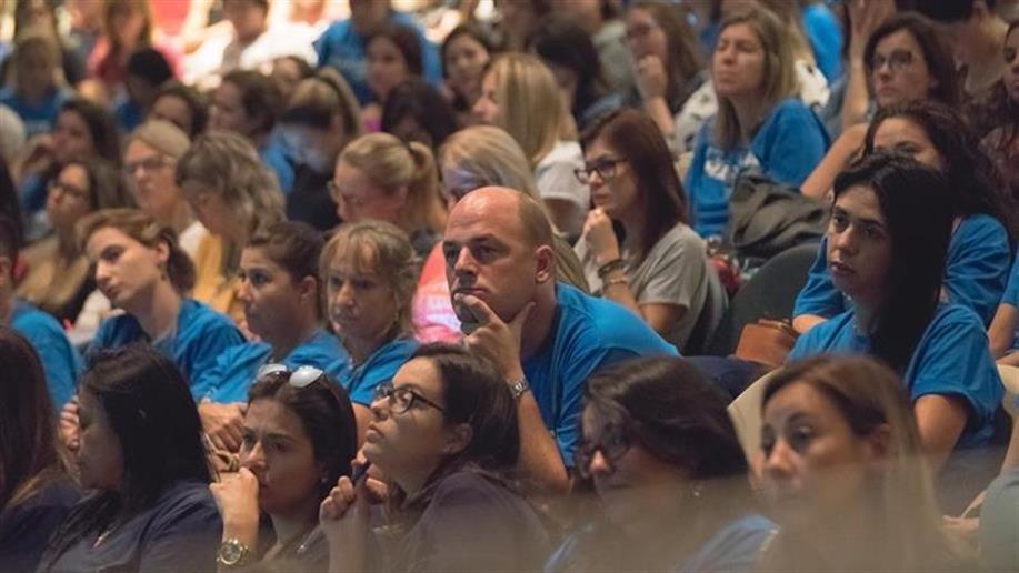 Evento foi realizado no último sábado e contou com a participação de educadores da Educação Infantil e dos Anos Iniciais.