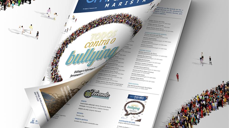 Revista fortalece o diálogo entre famílias e escola.