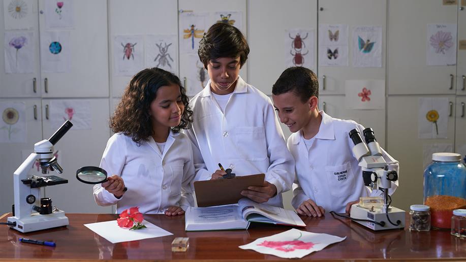 Novos conhecimentos e desafios cada vez mais complexos fazem parte desta fase da vida escolar. Neste período do Ensino Fundamental, o foco é o comprometimento do estudante para assumir responsabilidades, visando a sua formação em todas as dimensões.