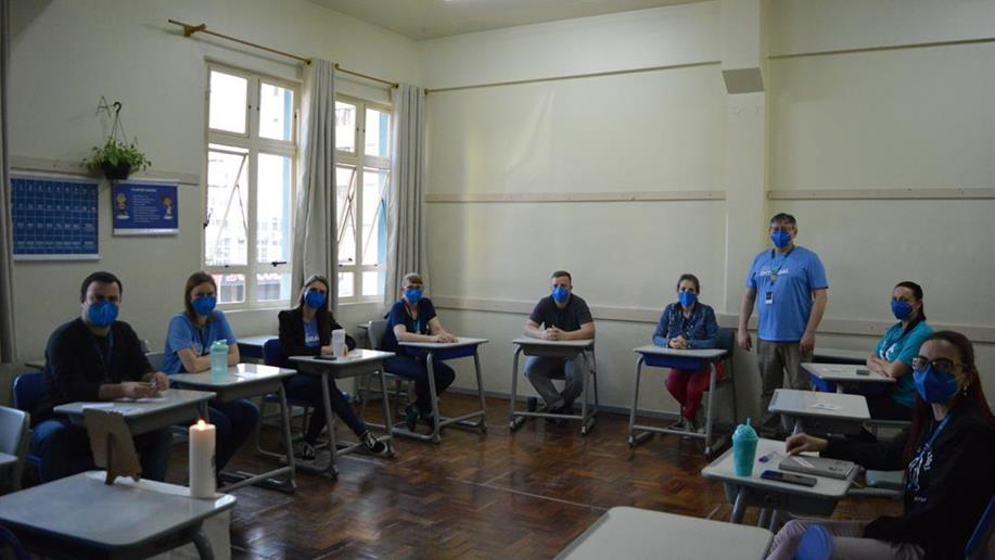 Etapa preparatória para a principal assembleia da Rede Marista promove espaço de diálogo e reflexão entre maristas de diferentes lugares