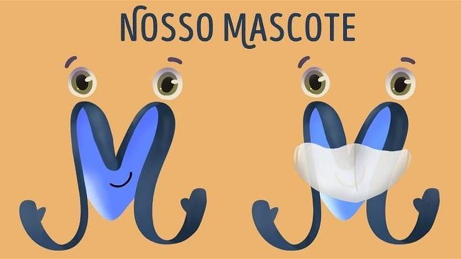 O mascote foi escolhido através de um concurso em que participaram estudantes e famílias do Colégio
