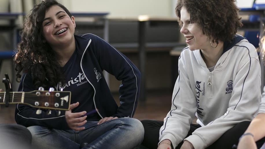 Em seu cotidiano, o Colégio Marista Medianeira proporciona espaços de experiências aos adolescentes e jovens com vistas ao protagonismo juvenil