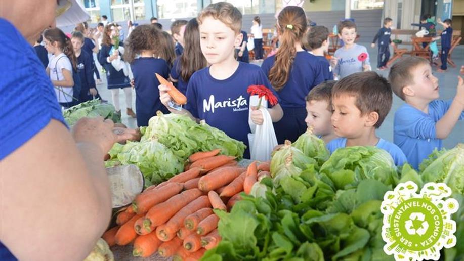 O projeto surgiu com o intuito de incentivar o consumo de alimentos saudáveis entre os nossos estudantes e famílias.