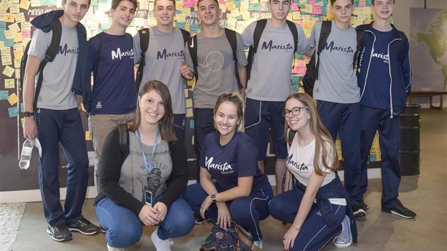 Desenvolvida por estudantes do Marista Aparecida, solução busca combater infecções hospitalares