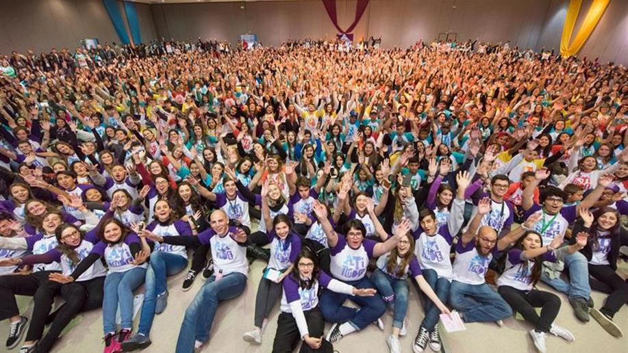 Mais de 1,6 mil estudantes que integram grupos da Pastoral Juvenil Marista refletiram sobre ações que podem mudar o nosso País.