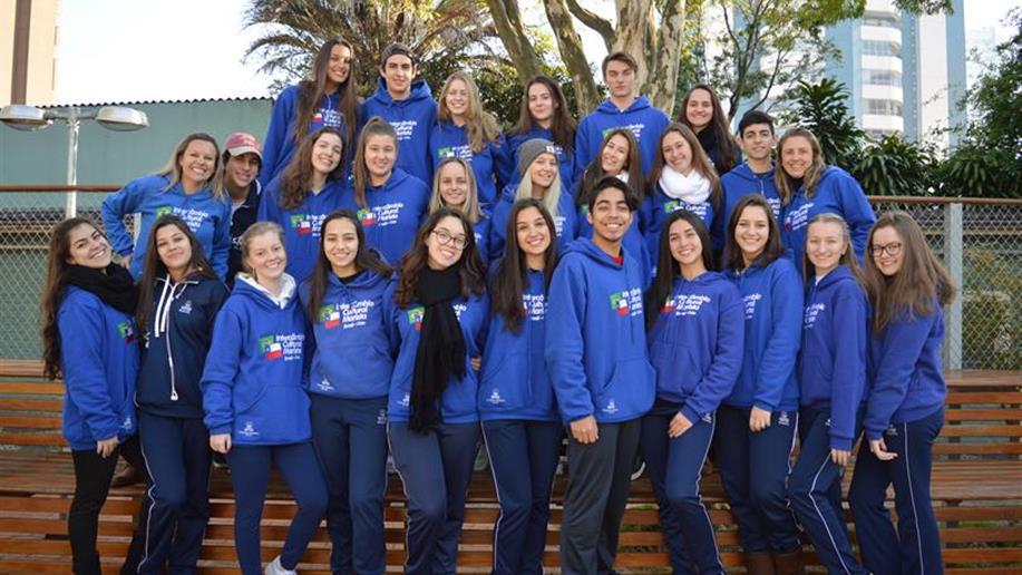 Estudantes do Ensino Médio viajam para o Chile