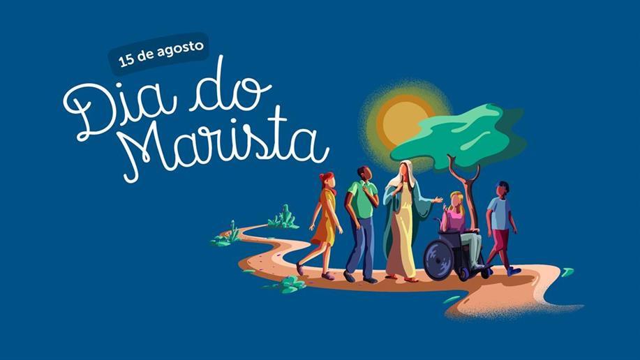 Em 15 de agosto, data que marca a Assunção de Nossa Senhora, homenageamos os mais de 10 mil colaboradores e Irmãos dedicados à missão marista.
