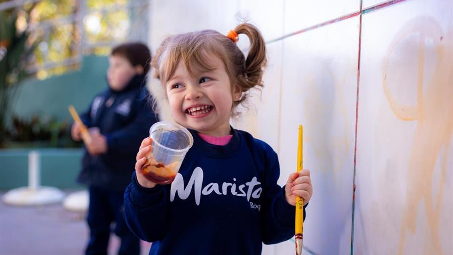 Nos primeiros anos da vida escolar, valorizamos o cuidado e o desenvolvimento pedagógico das crianças