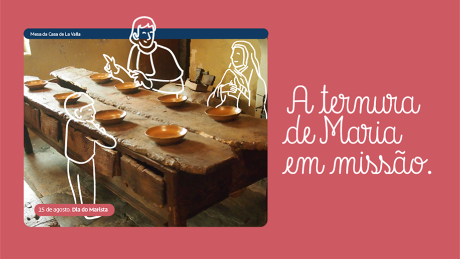 Em 15 de agosto, dia da Assunção de Nossa Senhora, celebramos o Dia do Marista