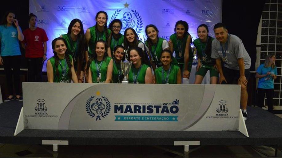 Estudantes representam o Colégio na competição que reúne mais de três mil jovens da Rede Marista.