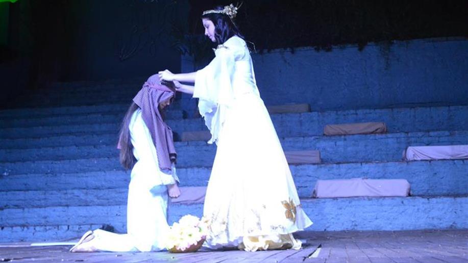 Espetáculo de música, dança e encenação relembrou o nascimento de Jesus.