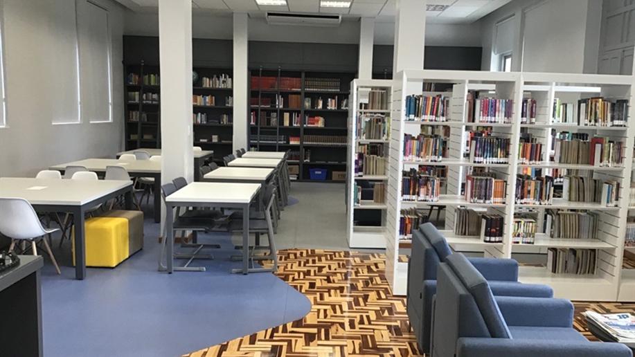 A Biblioteca Roque Gonçalves foi fundada em 4 de junho de 1939 pelo então diretor, Ir. Genésio Maria.