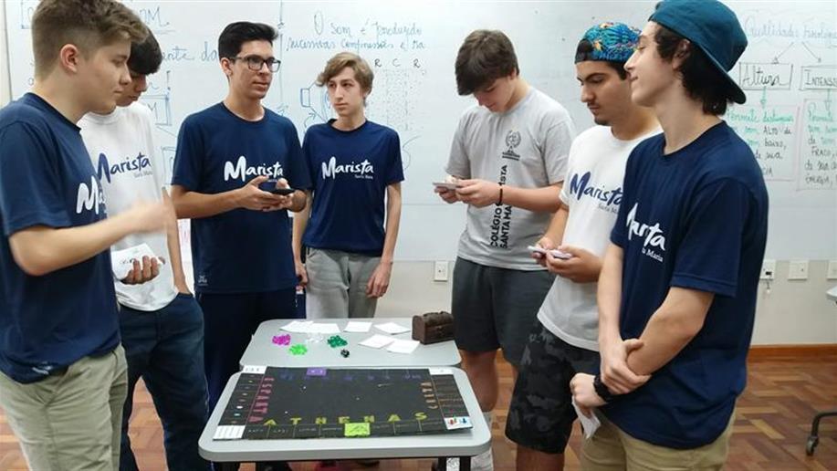 Atividade foi realizada pelos estudantes do Ensino Médio.