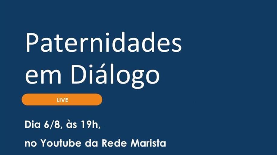 A transmissão será realizada no dia 6/8, às 19h, no canal do Youtube da instituição