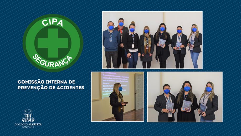 No dia, 15 de setembro, elegemos membros da Comissão Interna de Prevenção de Acidentes (Cipa).