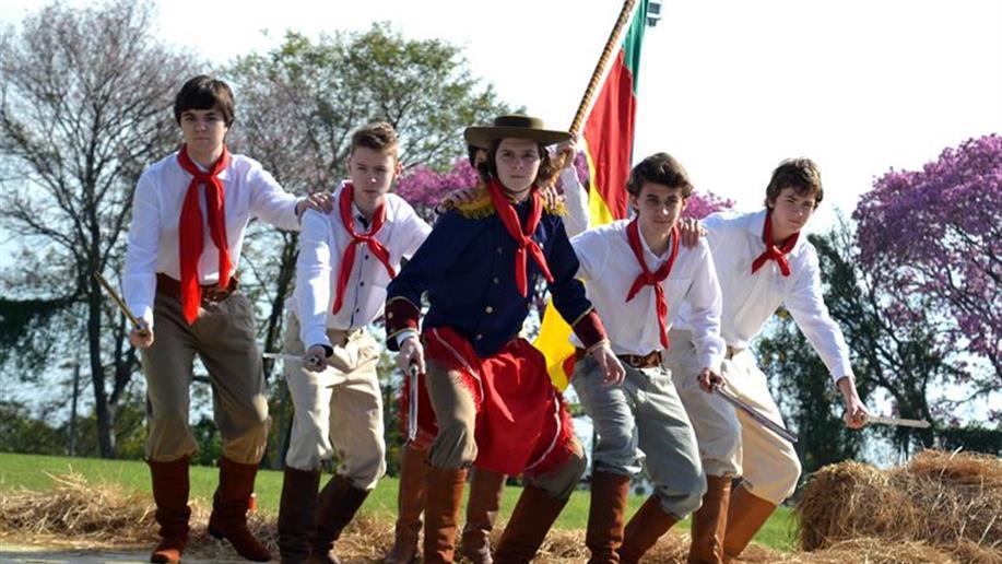 Valorização as tradições foi o objetivo das atividades da semana farroupilha do colégio.