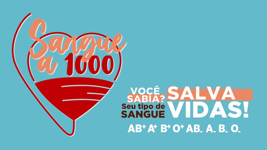 Jovens têm o objetivo de conquistar mil doações para o Banco de Sangue do HSA