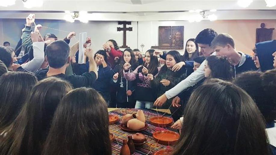 O encontro proporcionou reflexões e vivências para o cultivo da mística e da espiritualidade.