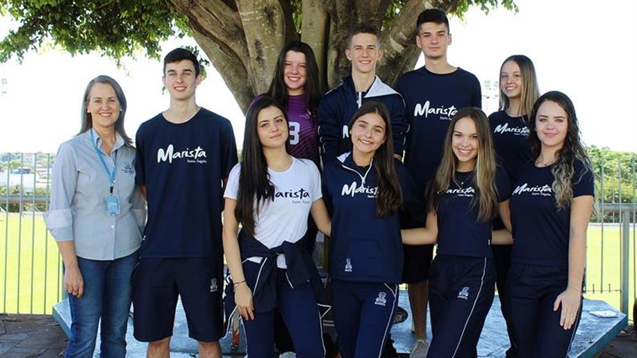 A diretoria do Grêmio Estudantil Santo Ângelo é eleita anualmente e tem o compromisso de representar os estudantes nas diversas situações.